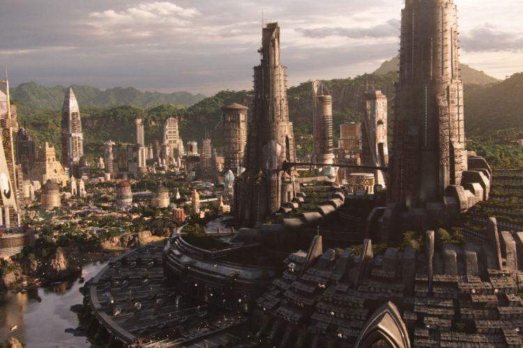 Wakanda dalam film Black Panther