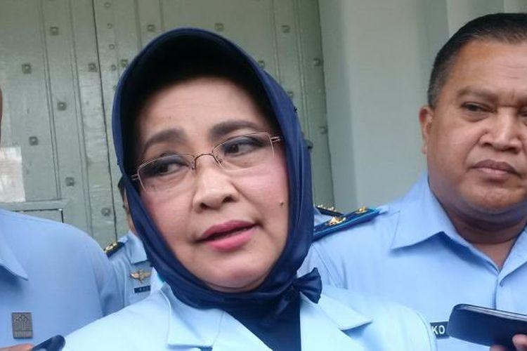 Kepala Kantor Wilayah (Kanwil) Kementrian Hukum dan Hak Asasi Manusia (Kemkum HAM?) Jawa Barat, Susy Susilawati KOMPAS.COM/PUTRA PRIMA PERDANA.