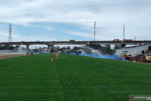 Proyek Jakarta International Stadium Sudah 32 Persen, Kini Pemasangan Rumput Hybrid