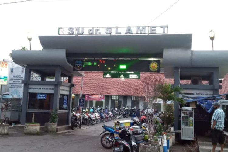 RSU dr Slamet Garut yang akan dijadikan rumah sakit khusus bagi pasien Covid-19 di Garut mulai Senin (5/7/2021)