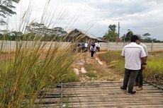 Pagar Pembatas Tol Balikpapan-Samarinda Dibongkar Warga untuk Akses Jalan ke Kebun