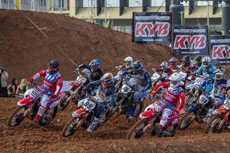 Ilustrasi balap MXGP Semarang