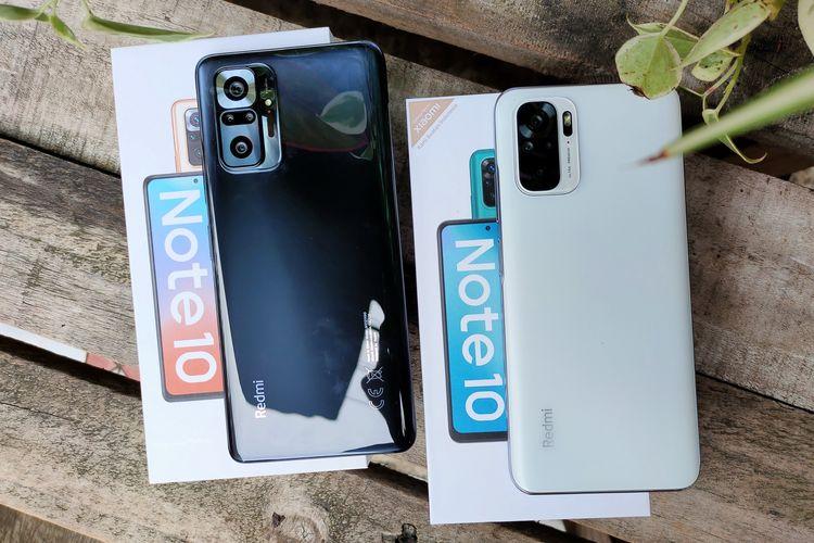 Xiaomi resmi meluncurkan Redmi Note 10 dan Redmi Note 10 Pro untuk pasar Indonesia, pada Selasa (30/3/2021).
