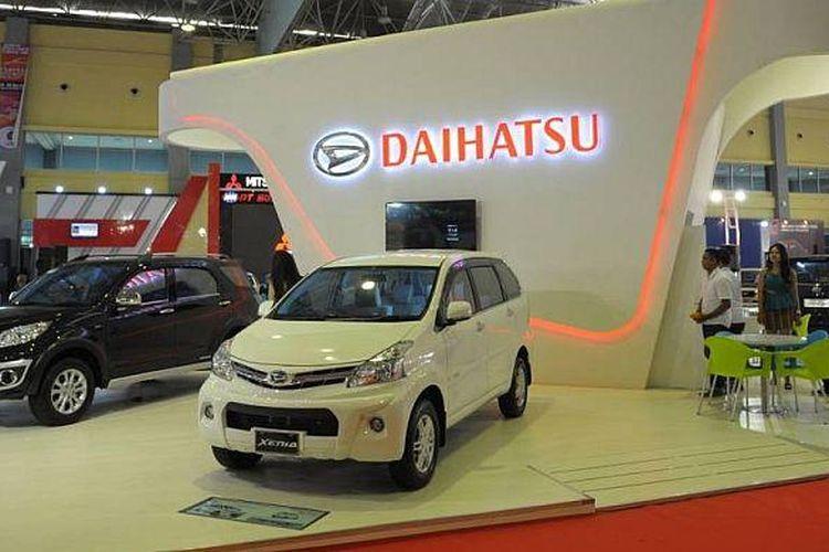 Booth Daihatsu di POMA 2014