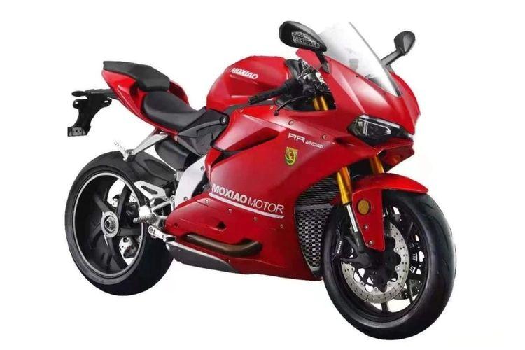 Moxiao 500RR kloningan Ducati Panigale 959 asal China.