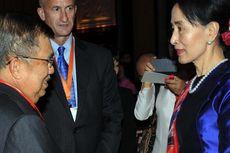 Bertemu Aung San Suu Kyi, Apa yang Dibicarakan Jusuf Kalla?