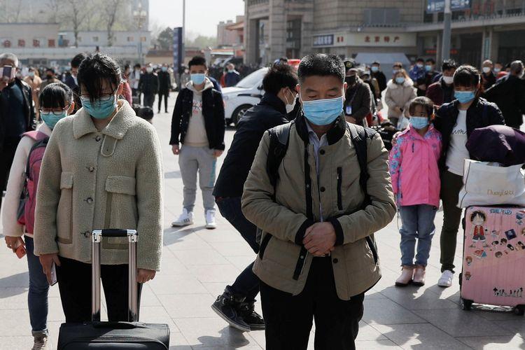 China Terdiam 3 Menit, Mengheningkan Cipta untuk Korban Virus Corona