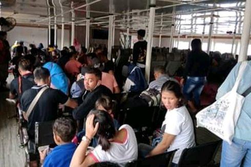 Sempat Tertahan di Pelabuhan Sape NTB, Ratusan Penumpang Tujuan Labuan Bajo Lanjutkan Perjalanan