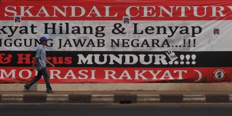Ilustrasi skandal kasus Bank Century