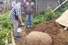 Batu yang Ditemukan Saat Penggalian Septic Tank Termasuk Cagar Budaya