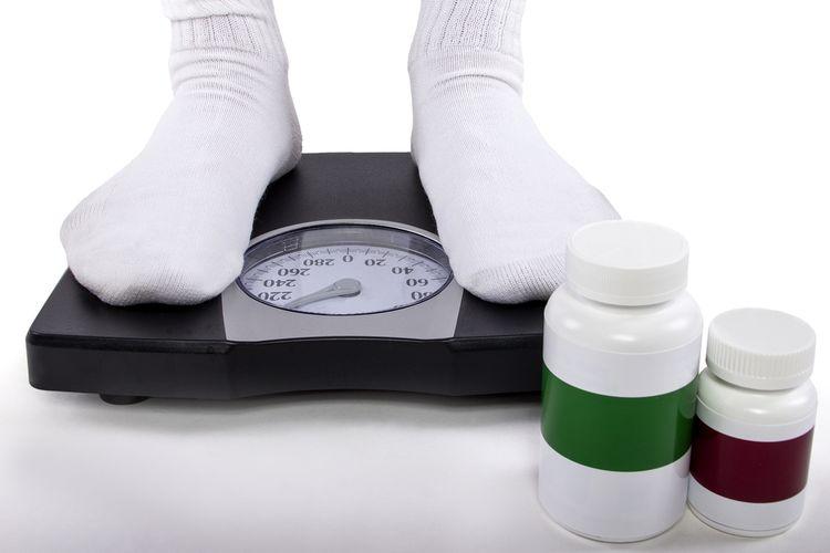 Ilustrasi berat badan meningkat karena konsumsi narkoba