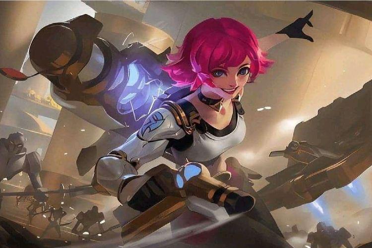 Ilustrasi Beatrix, karakter Marksman di Mobile Legends: Bang-Bang
