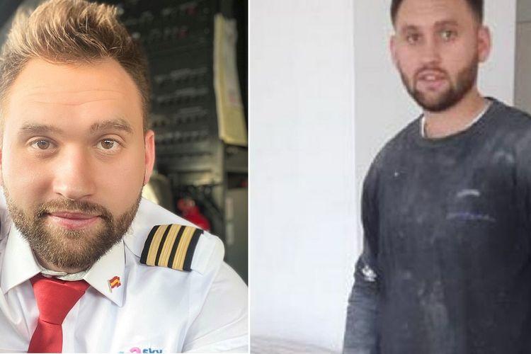 Seorang mantan pilot asal Spanyol, Patrick Pawelczak, banting setir menjadi kuli bangunan dan pengantar karena pandemi virus corona