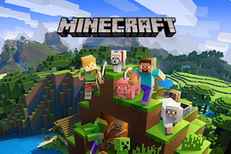 Ilustrasi Minecraft