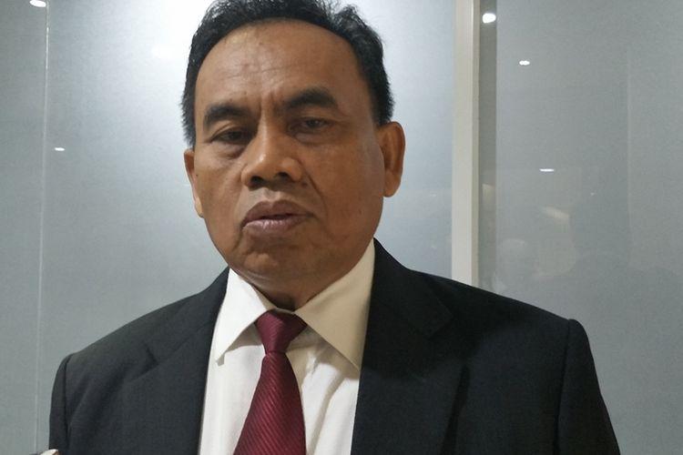 Sekretaris Daerah DKI Jakarta Saefullah di Balai Kota DKI Jakarta, Jalan Medan Merdeka Selatan, Senin (14/10/2019).