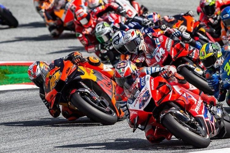 Pol Espargaro belum berhasil memberikan kemenangan untuk KTM di MotoGP Austria