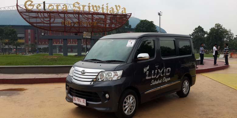 Daihatsu New Luxio di Gelora Sriwijaya, Palembang, Sumatera Selatan