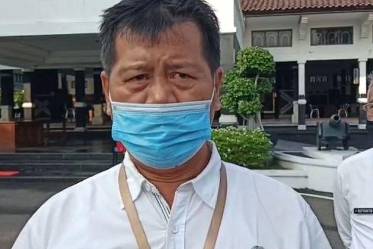 Jubir tim gugus tugas penanganan Covid-19 Kabupaten Pemalang Jawa Tengah Tutuko Raharjo