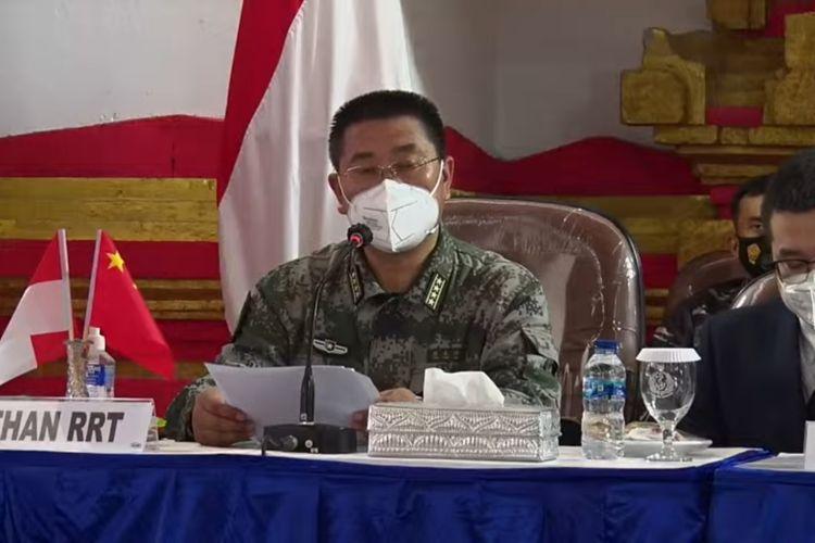 Atase Pertahanan China, Sr. Col. Chen Yongjing