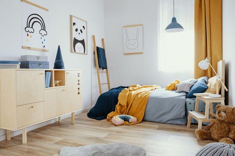 Ilustrasi kamar Anak