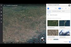 Google Earth Buktikan Perubahan Iklim Itu Nyata