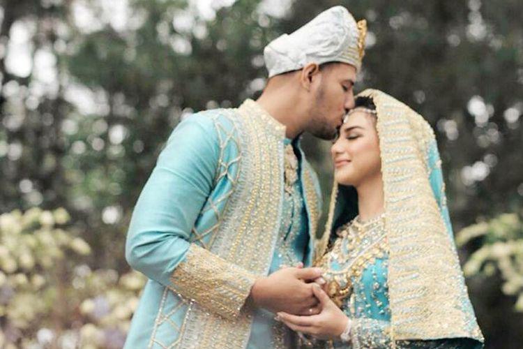 Ammar Zoni menggelar akad nikahnya dengan Irish Bella di Pine Hill Cibodas, Kawasan Lembang, Cibodas, Bandung Barat, Minggu (28/4/2019) hari ini.