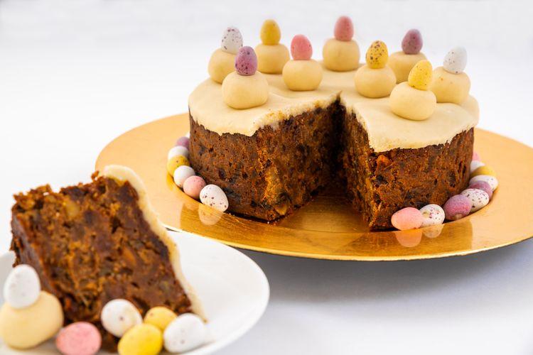Sajian spesial Paskah ala Inggris, simnel cake