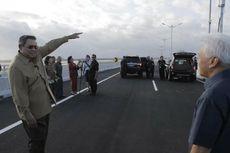 Presiden SBY Resmikan Jalan Tol Pertama di Atas Laut