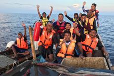 Kapal Terbakar, 12 Pemancing Selamat, Salah Satunya Mengaku Digigit Hiu