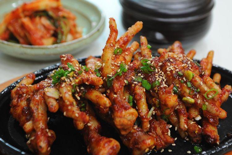 Resep dan cara membuat ceker ayam pedas