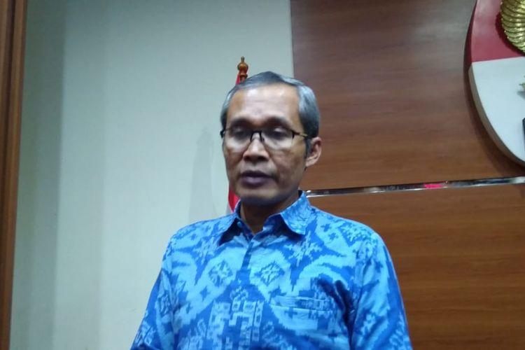 Wakil Ketua KPK Alexander Marwata di Gedung Merah Putih KPK, Jakarta, Rabu (30/1/2019)