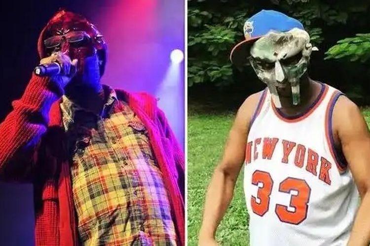 Rapper MF Doom.