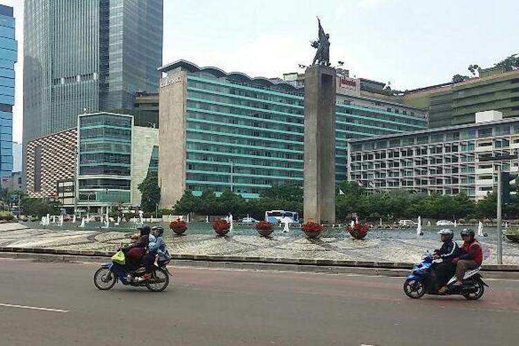 Kawasan Bundaran Hotel Indonesia, Jakarta.