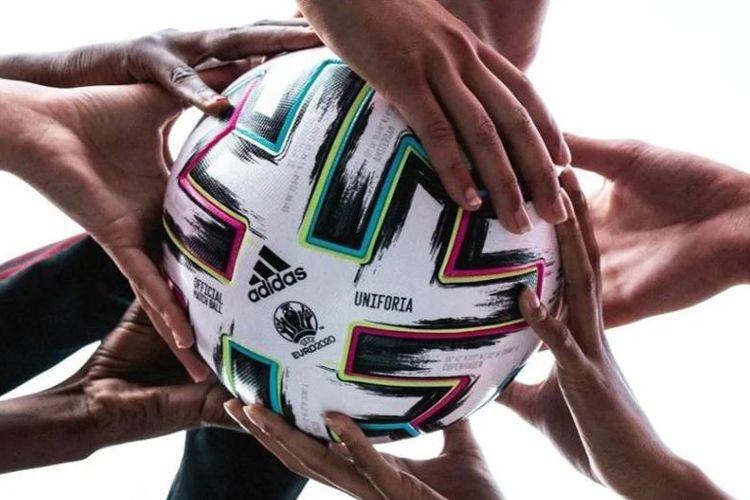Adidas Uniforia, bola resmi Piala Eropa atau Euro 2020. (Foto: Tangkapan layar laman resmi UEFA)