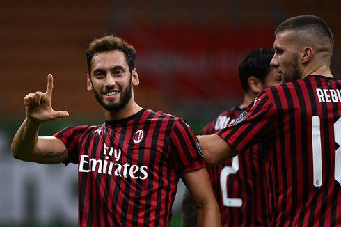 Turun, Banderol Emirates di AC Milan