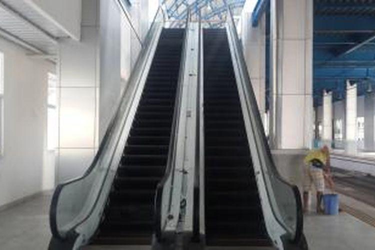 Stasiun Palmerah Bersolek, dari Buruk Rupa Jadi Mentereng