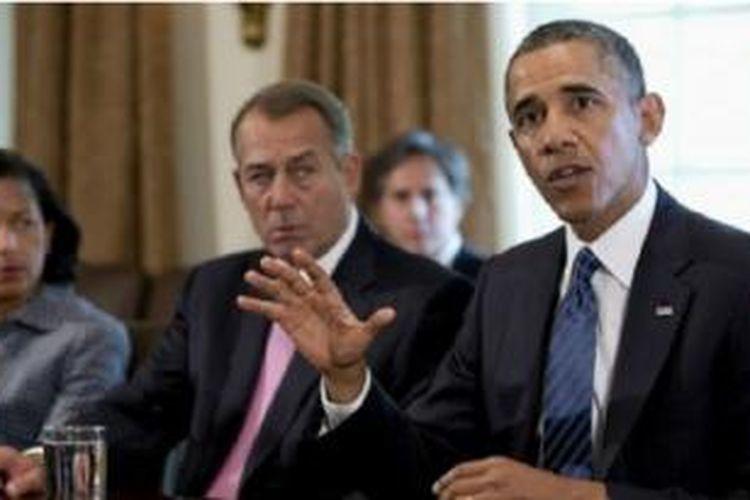 Obama mengatakan serangan militer akan mencegah Assad menggunakan senjata kimia