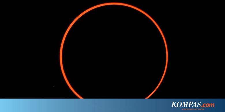 Kapan Gerhana Matahari Cincin Akan Terjadi Lagi