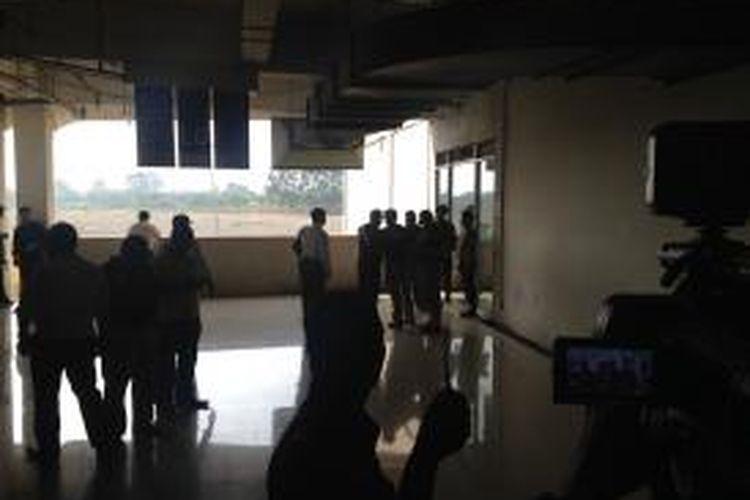 Ledakan di kantin Mal Alam Sutera, Serpong, Kota Tangerang, Banten, Rabu (28/10/2015)