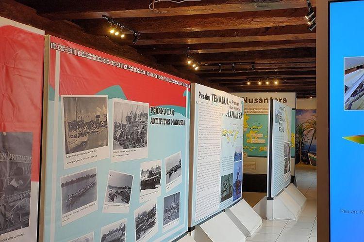 Pameran Perahu Tradisional Nusantara berlangsung mulai 23 November 2019 hingga 22 Desember 2019 di Museum Bahari, Penjaringan, Jakarta Utara.