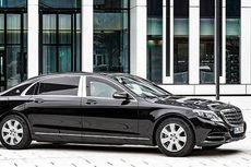 Mobil Jokowi Mercedes Benz S600 Guard Anti Peluru dan Ledakan Bom