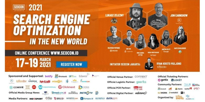 Acara tahunan SEOCon Jakarta 2021