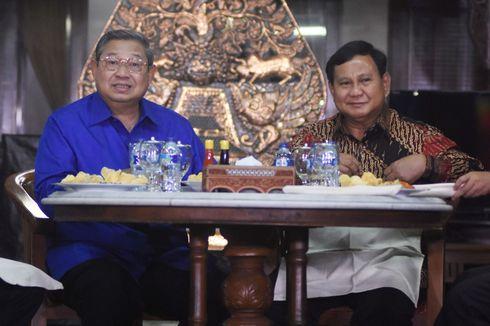 Wacana Koalisi Gerindra dan Demokrat Buka Peluang AHY Jadi Cawapres Prabowo