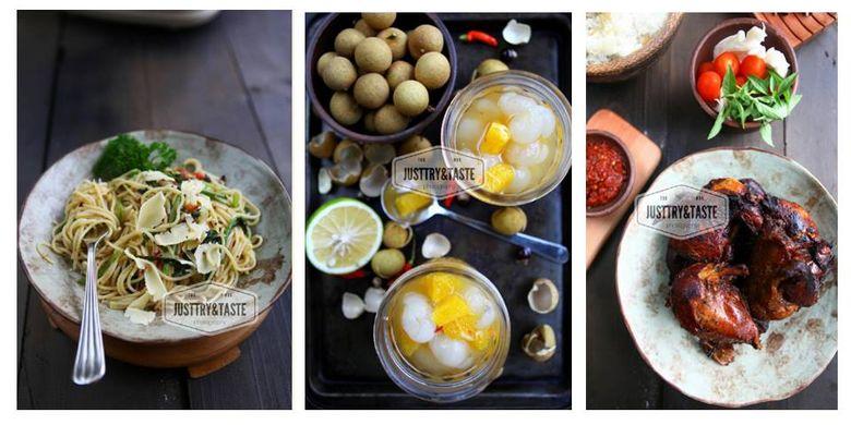 Ragam masakan Endang Indriani melalui blognya www.justtryandtaste.com