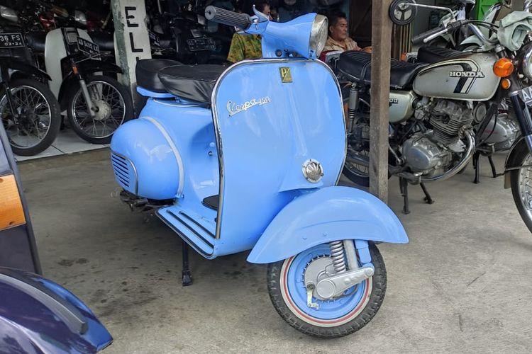 Vespa VBB 1962 di Marwan Motor Solo, Jawa Tengah
