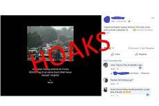 [HOAKS] Jembatan Gadog di Bogor Ambruk akibat Hujan Deras