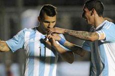 Di Maria dan Aguero Borong 5 Gol Kemenangan Argentina
