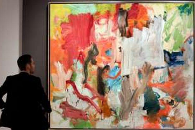 Lukisan karya Willem de Kooning berjudul