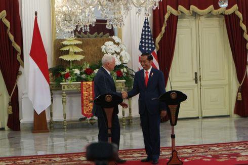 Bertemu Jokowi, Wapres AS Mike Pence Bicara soal Bom Thamrin
