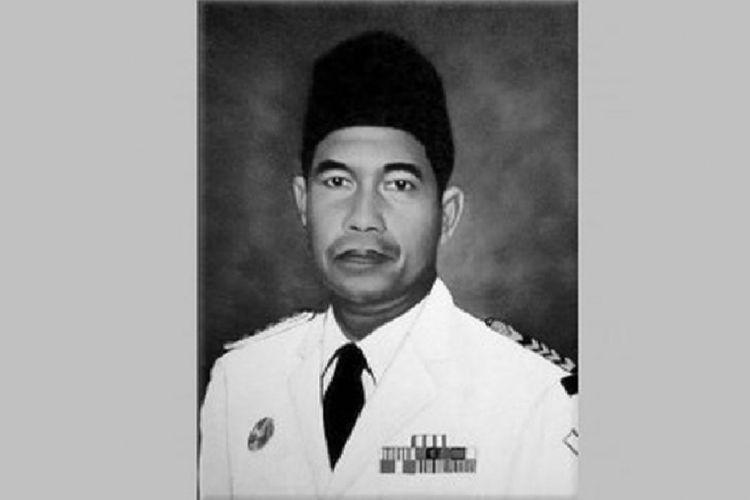 Foto Tjilik Riwut sebagaimana dipasang dalam situs web milik Taman Makam Pahlawan Nasional Utama Kalibata